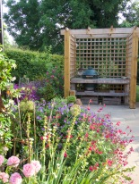 Big Green Egg is the perfect choice for a cookery writer's garden
